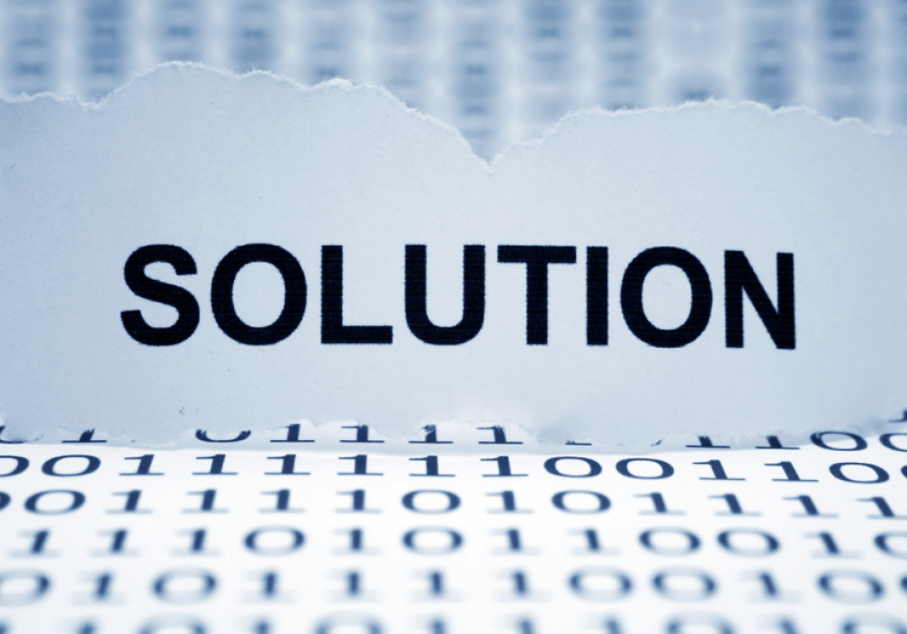 Solutions Not Resolutions